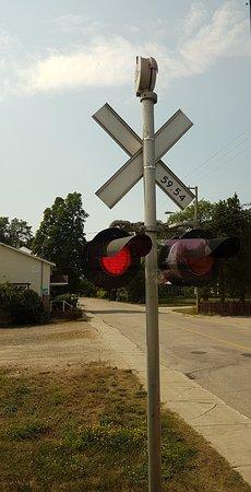 Train de Charlevoix: Dans le train