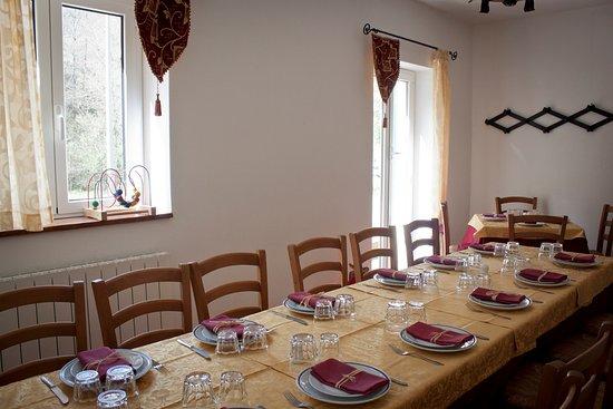 Castiglione Chiavarese, Italien: sala dei cavalieri