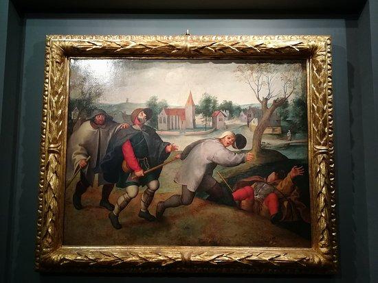Calvi dell'Umbria, Italien: Dalla Pinacoteca del Museo del Monastero delle Orsoline (opera di Brueghel il Giovane)