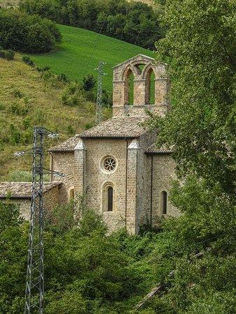 Carpineto della Nora, Italia: Abbazia di San Bartolomeo