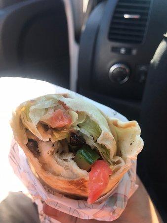 Tracadie-Sheila, Канада: Chicken Shawarma Wrap