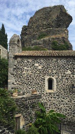 Alba-la-Romaine, فرنسا: la vue de notre table !!!!!!