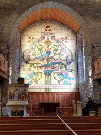 Interessante Kirchenausstattung