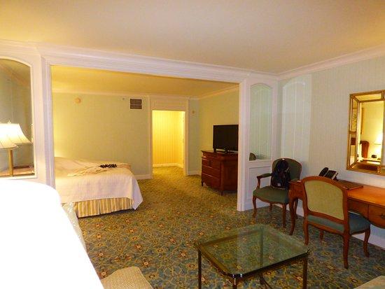 The Grand America Hotel: Bedroom suite, beautiful