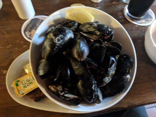 Olde Castle Bar: Mussels were great