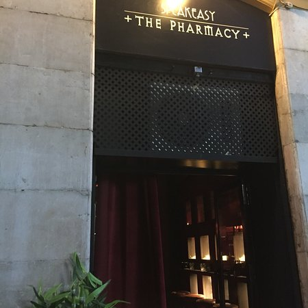 "Speakeasy ""The Pharmacy"""