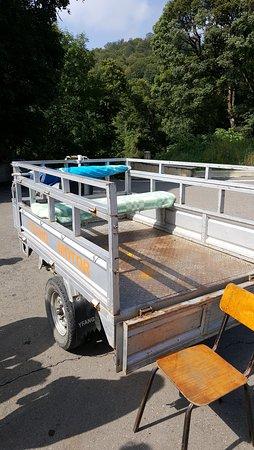 Lake Goygol: подвозка для тех, кому сложно поднятся от озера наверх