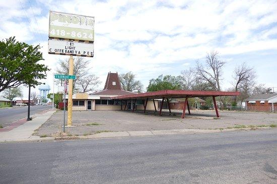 Route 66 Historic District: Amarillo historic 6th street