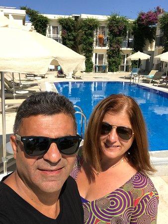 Esim Ve Ben Picture Of Akca Hotel Ortakent Tripadvisor
