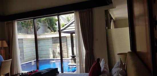 Tulikup, Indonezja: Room with pool