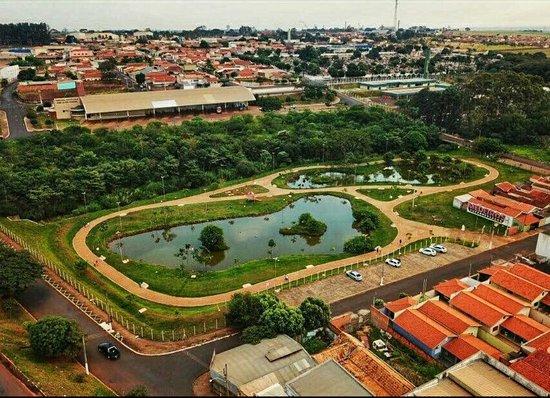 Sao Joaquim da Barra, SP: Parque dos Lagos Antônio Scarpellini