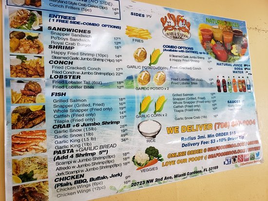20180824_133302_large jpg - Picture of Crabs & Seafood Bros, Miami