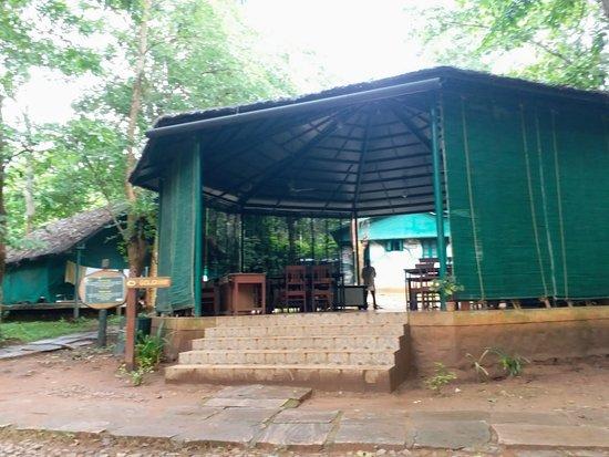 Sakrebailu Elephant Camp: Dining Area