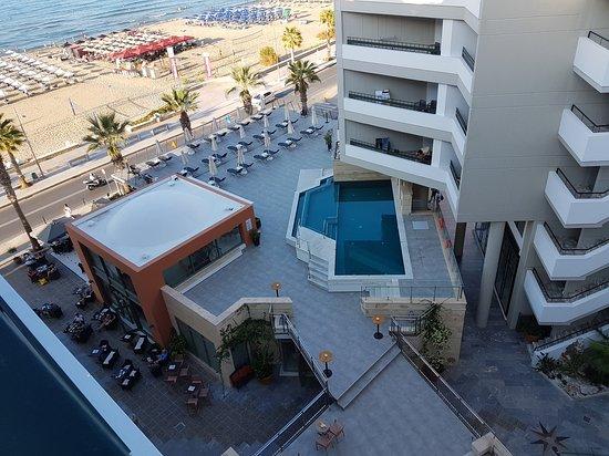 Aquila Porto Rethymno: View from the balcony