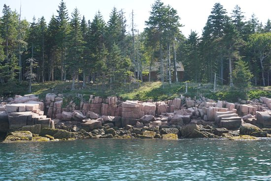 Bass Harbor, ME: A shot from the boat
