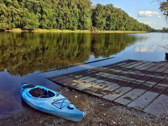 Missisquoi National Wildlife Refuge: Descente de bateau