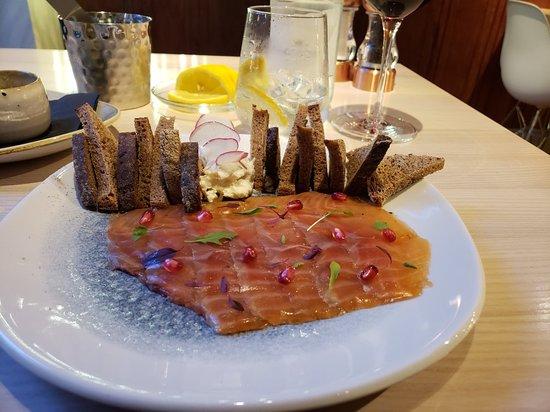 Fantastic dinner at The Gojk