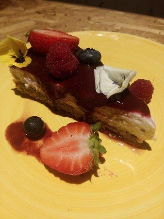 Cheesecake de frutos vermelhos