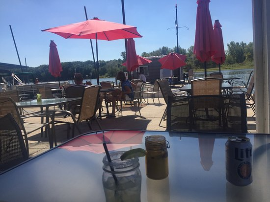 Sullivan, IL: Deck on the Lake