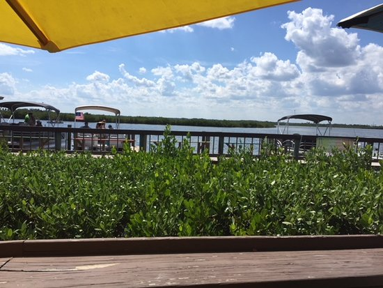 J.B.'s Fish Camp & Restaurant: View from the outdoor seating