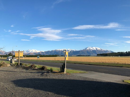 Ski Time: view from car park to Mt Hutt