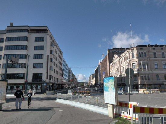 Hameenkatu: Häme street´s vew from the Tampere Railway station