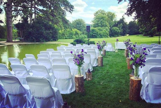 Hochzeitszeremonie Picture Of Villa Merian Basel Tripadvisor