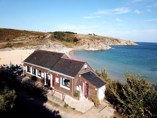 Locmaria, Frankrike: vue exceptionnelle
