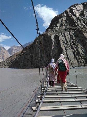 Hussaini Hanging Bridge Fotografie