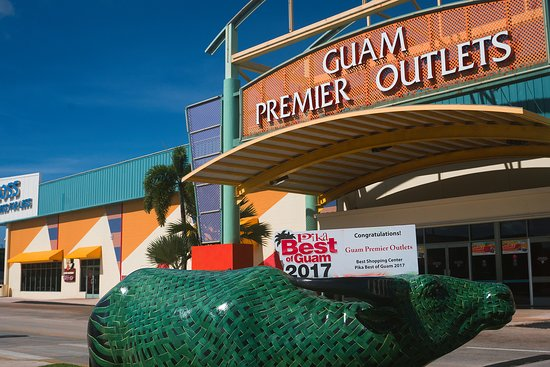 Tamuning, Mariana Islands: Guam Premier Outlets (GPO) was voted Best Shopping Center on Pika's Best of Guam 2017!