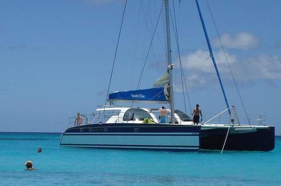 St Maarten Catamaran Snorkel Seil