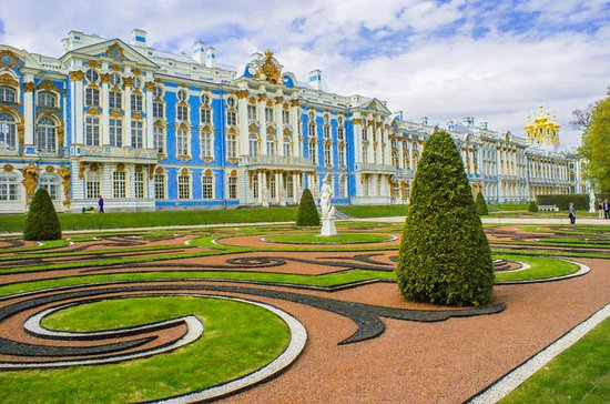 Small-Group Catherine Palace and...