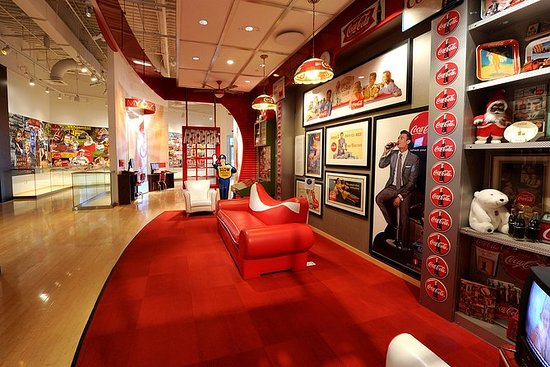 Visita del World of Coca-Cola