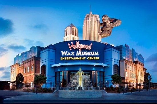 Hollywood Wax Museum Admission...
