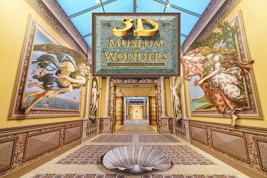 3D奇跡博物館入場券