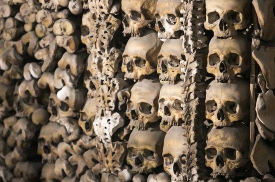 Capuchin Crypt og katakomber...