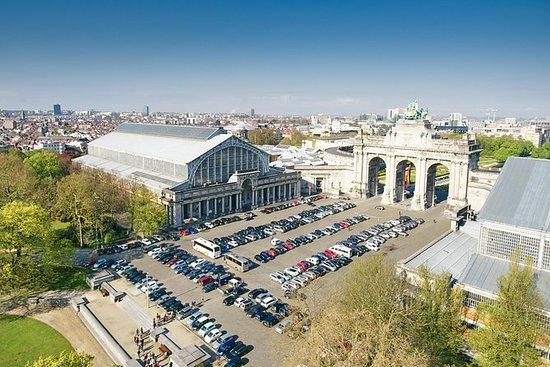 Brussels Autoworld Museum Entrance...