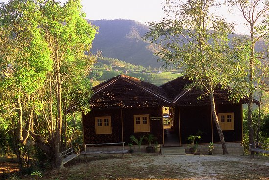 Nyaungshwe, Burma: Hti Ne Community House where accommodation, breakfast are provided.