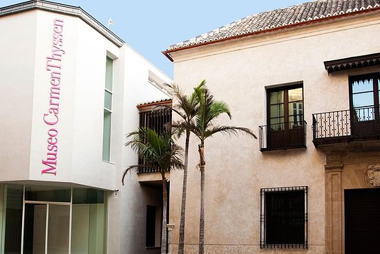 Entrada al Museo Carmen Thyssen Málaga