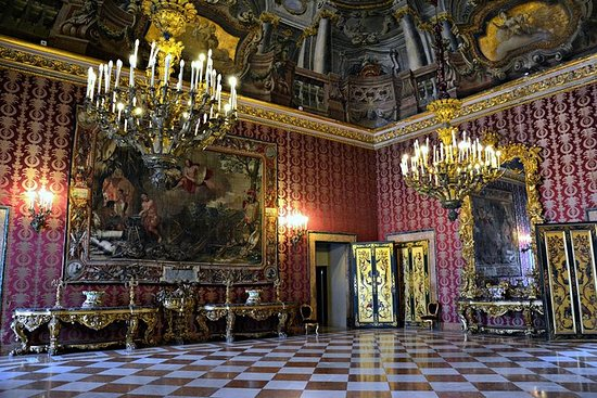 Billet d'entrée au palais royal de...