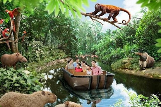River Safari Admission Ticket including 2 Boat Rides