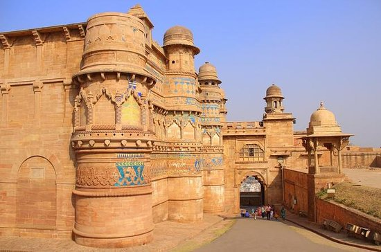 En dag Gwalior Excursion Fra Agra...