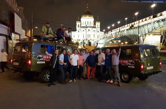 Pub-crawl Moscow onboard a classic...