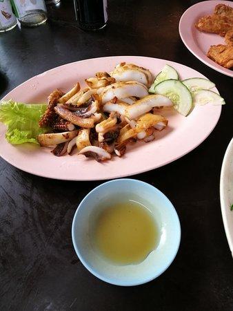 Kukup, มาเลเซีย: 烤鱿鱼