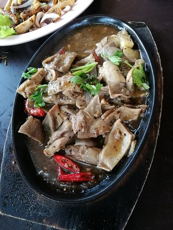 Kukup, มาเลเซีย: 黑胡椒猪肚