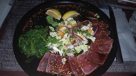 La Table De L'Ocean: tataki de thon