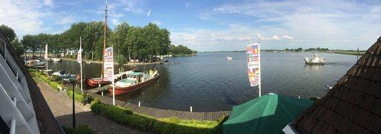 Oudega, The Netherlands: Panorama foto vanuit hotelkamer