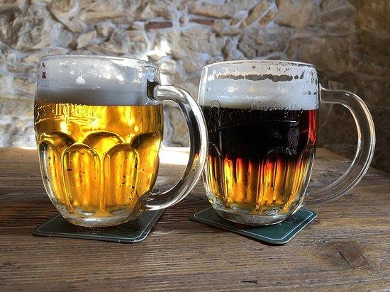 Frydstejn, Tschechien: Řezané pivo