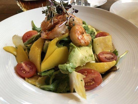 Frydstejn, Tschechien: Salát s krevetami