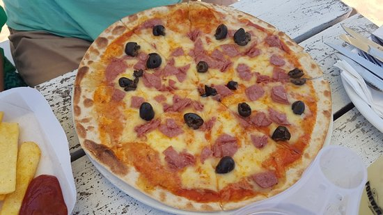 Westbrook Beach, South Africa: Beach Bums Restaurant - pizza